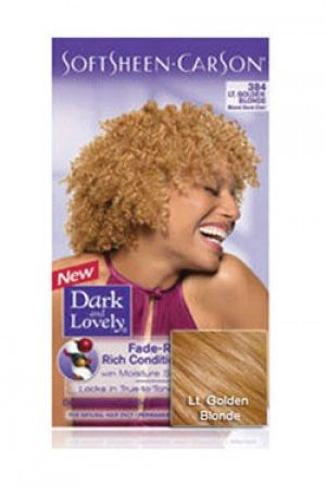 Dark & Lovely-Soft Sheen Carson-#384 Light Golden Blonde