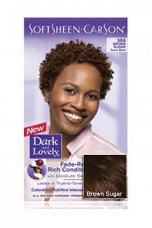 Dark & Lovely-Soft Sheen Carson-#386 Brown Sugar
