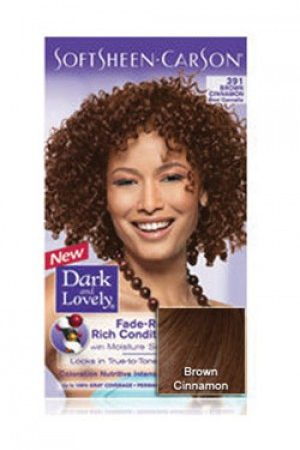 Dark & Lovely-Soft Sheen Carson-#391 Brown Cinnamon