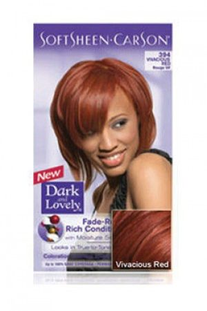 Dark & Lovely-Soft Sheen Carson-#394 Vivacious Red