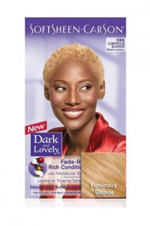 Dark & Lovely-Soft Sheen Carson-#396 Luminous Blonde