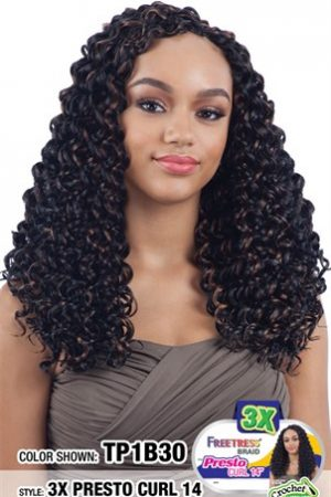 Freetress Braid – 3x Presto Curl 14 Inch
