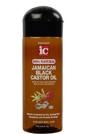 Fantasia-100% Natural Jamaican Black Castor Oil (6oz)