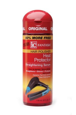 Fantasia-Heat Protector Straightening Serum (6oz)