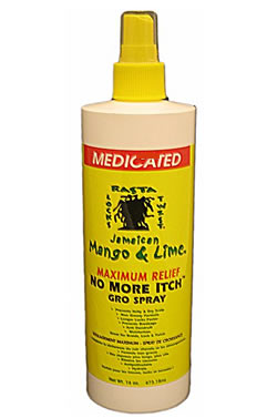 Jamaican Mango and Lime-Mentholated No More Itch Gro Spray (16oz)