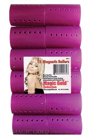 Magnetic Rollers 12pc (46mm-Purple)
