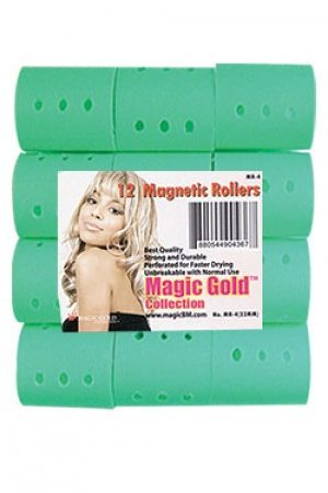 Magnetic Rollers 12pc (33mm- Green)