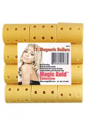 Magnetic Rollers 12pc (29mm-Beige)