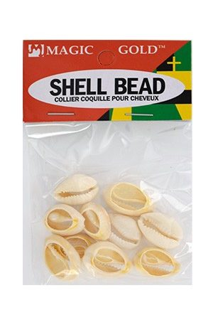 Magic Gold-Shell Bead (Ivory)