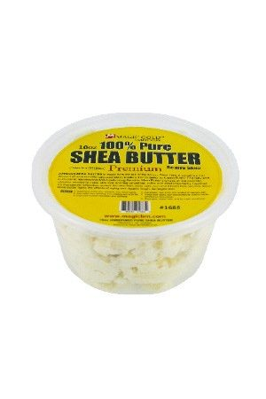 100% Pure Shea Butter [Chunky-White] (10 oz)