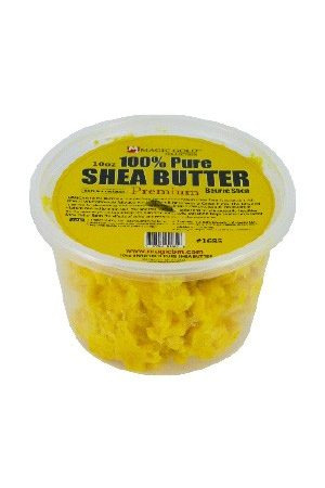 100% Pure Shea Butter [Chunky-Yellow] (10 oz)