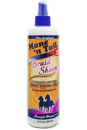 Mane n Tail-Braid Sheen Spray (12oz)