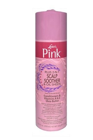 Pink-Pink Plus 2N1 Scalp Smoother&Oil Sheen Spray (11.5 oz)