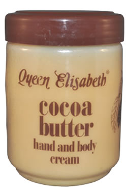 Queen Elisabeth-Cocoa Butter Cream Jar (500ml)