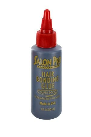 Salon Pro-Hair Bonding Glue Black (2oz)