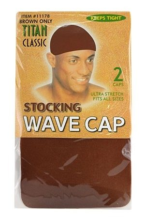 Titan Stocking Wave Cap (Brown)