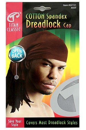 Titan-Cotton Spandex Dreadlock Open Back