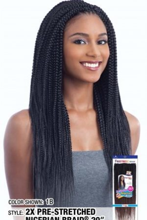 2X Nigerian Pre-Stretched Braid 20″