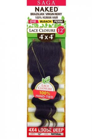 Naked 4X4 Lace Closure Loose Deep