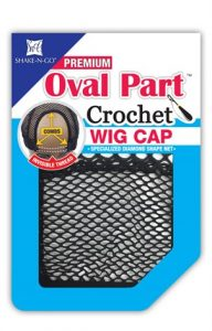 Freetress Hair Piece - Crochet Oval Part Cap