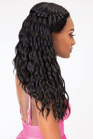 Jannet Collection Extended Part Lace Braid Layla Wig