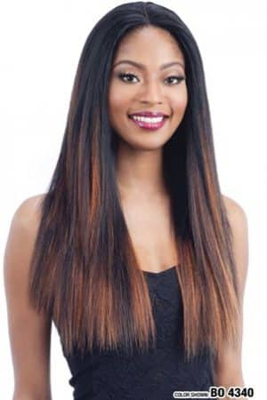 MilkyWay Human Hair Mastermix Lace Front Wig Harmony 114