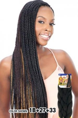 Que Braid Tri-Pack King Jumbo Braid
