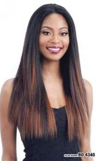 SHAKE N GO MILKYWAY HUMAN HAIR MASTERMIX LACE FRONT WIG HARMONY 114