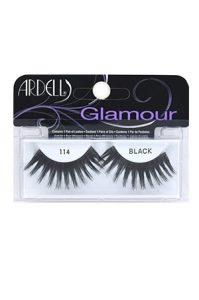 ARDELL GLAMOUR EYELASHES #114 BLACK