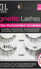 ARDELL LASHES MAGNETIC DOUBLE [105] BLACK WITH APPLICATION