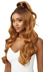 Outre Lace Front Perfect Hair Line 13X6 Prebraided wig India