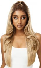 Outre Lace Front Perfect Hair Line 13X6 Prebraided wig Ivory