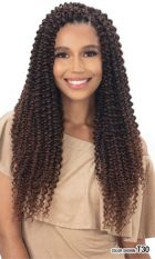 MODEL MODEL BRAID 3X PRE – STRETCHED WATER BOHEMIAN CURL 18 INCHES